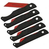 TOPS Knives Pocket Survival Folding Saws, 5 Pack (PSSW-05)