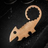 TRA Designs Natural Canvas Micarta Chugger the Chameleon Bottle Opener