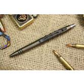 Tuff-Writer Precision Press Tactical Pen, Aged Brass (TWP-PPP-BRS-AGE)
