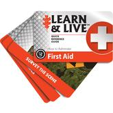 UST Ultimate Survival Learn & Live First Aid Cards