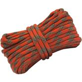 UST Ultimate Survival ParaTinder 550 Paracord with Tinder Cord, Orange/Gray, 30 Feet