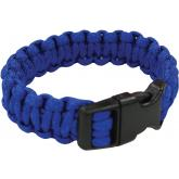 UST Ultimate Survival Paracord Survival Bracelet, Blue (20-295BB-26)