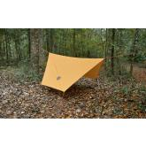 UST Ultimate Survival Hex Tarp, Orange 108 inch x 243 inch