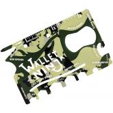 Wallet Ninja 18-in-1 Multi-Tool, Camo