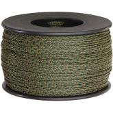 550 Paracord, Woodland Camo, Nylon Braided, 300 Foot Spool