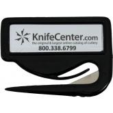 KnifeCenter Letter Opener, Black