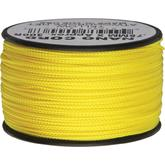 550 Nano Cord, Yellow, Nylon Braided, 300 Feet x 0.75 mm