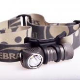 ZebraLight H32 CR123 Headlamp, XM-L2 Cool White LED, 480 Max Lumens