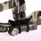 ZebraLight H502R L2 Red AA Flood Headlamp, Cree Red XP-E LED, 100 Max Lumens
