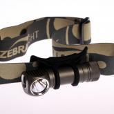 ZebraLight H52FW AA Floody Headlamp, XM-L2 Neutral White LED, 266 Max Lumens
