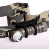 ZebraLight H52F AA Floody Headlamp, XM-L2 Cool White LED, 285 Max Lumens