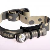 ZebraLight H52 AA Headlamp, XM-L2 Cool White LED, 300 Max Lumens