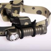 ZebraLight H600 Mk II 18650 Headlamp, XM-L2 Cool White LED, 1090 Max Lumens
