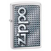 Zippo 3D Abstract 1, Brushed Chrome Classic