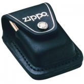 Zippo Leather Lighter Pouch w/ Loop, Black