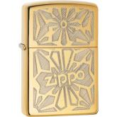Zippo Ornament, High Polish Brass Classic