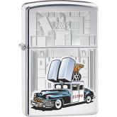 Zippo Car and Building, HP Chrome Classic