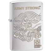 Zippo US Army, Brushed Chrome Classic