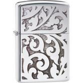 Zippo Filigree, High Polish Chrome Classic