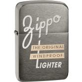 Zippo Original Windproof, Brushed Black Chrome 1941