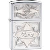 Zippo Ford, High Polish Chrome Classic
