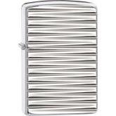 Zippo Engine Turn Horizontal, Armor High Polish Chrome
