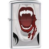 Zippo Vampiress, High Polish Chrome Classic