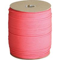 550 Paracord, Hot Pink, 1000 Foot Spool