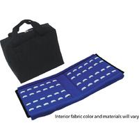 Knife Carrying Case with Zipper Closure, Holds 72 Knives