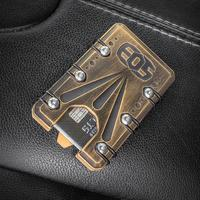 Elite Outfitting Solutions EOS Titanium 2.0 Wallet, Black and Gold Battleworn