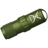 Exotac MATCHCAP XL Survival Matchcase and Striker, Waterproof, Olive Drab