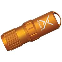 Exotac MATCHCAP XL Survival Matchcase and Striker, Waterproof, Orange