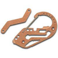Fortius Arms Tumbled Copper KeyBiner Carabiner Key Retention System