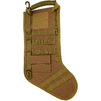 GenPro RuckUp Khaki Tactical Christmas Stocking with MOLLE Attachment