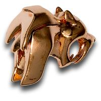 HEAdesigns Copper Sabertooth Bead, Mirror Polished