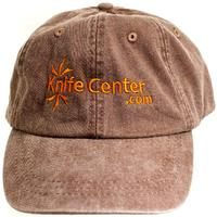 KnifeCenter.com Top Quality Cool-Crown Cap by Adams, Brown