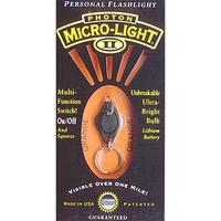 Photon Micro Light 2 Key Ring and Orange Color LED