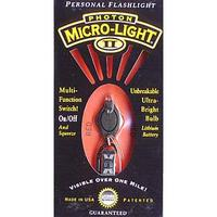 Photon Micro Light 2 Key Ring with Red Light LED