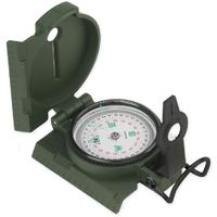 NDuR Lensatic Compass with Plastic, Olive Drab