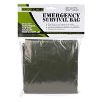 Proforce Emergency Survival Bag - Olive Drab / Silver - 144 Per Case