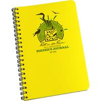 Rite in the Rain Polydura Bird Watcher's Spiral Notebook, 4-5/8 inch x 7 inch, Yellow