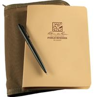 Rite in the Rain Heavy Polydura Field Ring Binder Kit, 5-5/8 inch x 7-1/2 inch, Tan