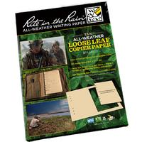 Rite in the Rain Loose Leaf Copier Paper 8-1/2 inch x 11 inch, 300 Sheets, Tan
