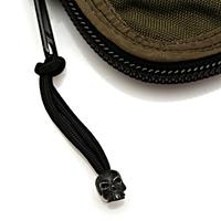 Schmuckatelli Black Oxidized Pewter Classic Skull Zipper Pull, Black