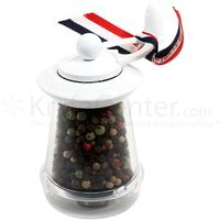 William Bounds Key Mill WB-1 Pepper Mill, White