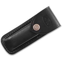 Buck 110 Folding Hunter Black Leather Sheath