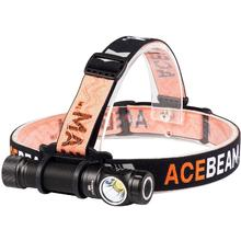 AceBeam H15 LED Headlamp, Black, 2500 Max Lumens