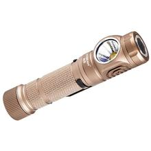 AceBeam H15 LED Headlamp, Tan, 2500 Max Lumens