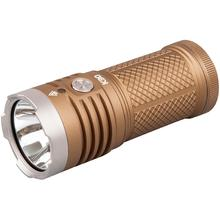 AceBeam K30 LED Flashlight, Tan, 5200 Max Lumens