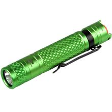 AceBeam M10 LED Flashlight, Green, 224 Max Lumens